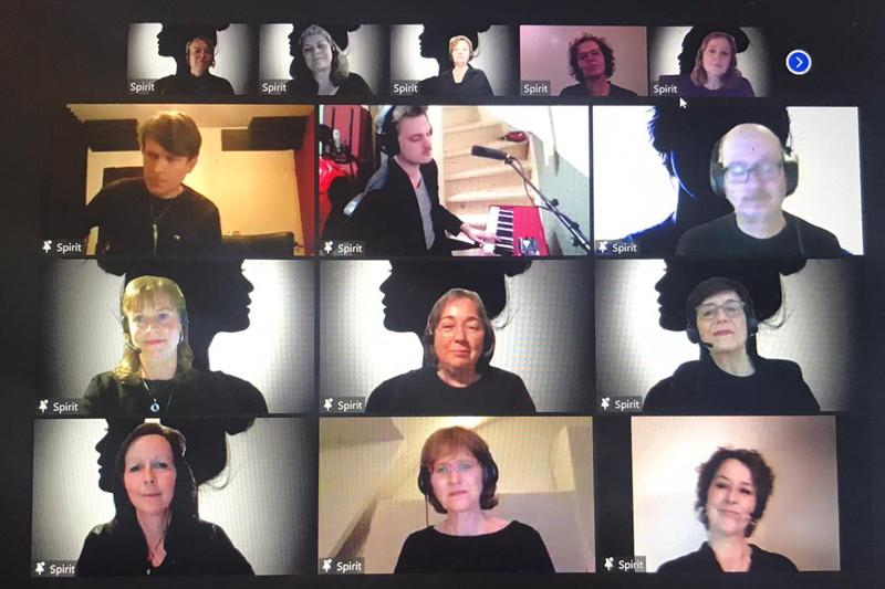 Zanggroep Spirit wint prijs op online Vocal Leadership Spring Festival 2021